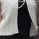 Cabled Waistcoat by Debbie Bliss